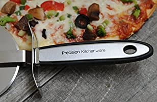 Ultra Sharp Pizza Cutter//Wheel Slices Through With Ease Precision Kitchenware
