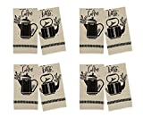 Country Cottage - Linen Tea Towel Set (Pack of 4)
