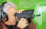 Professional Parabolic Bird and Animal Electronic Listening & Digital Recording Device (Color - Black)