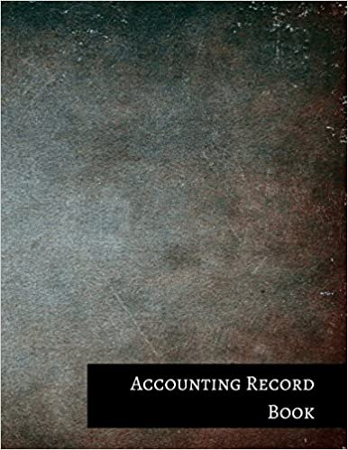 Accounting Record Book