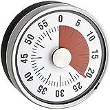 Minuteur Mécanique de Cuisine - Inox - Magnétique -
