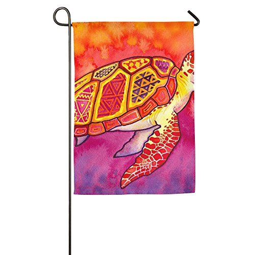 St Johns Red Sea (Red Sea Turtles Indoor Outdoor Garden Flag House Decorative Garden Flag Polyester Flag Banner 1218inch 1827inch For Choose)