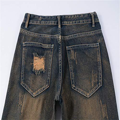 804 Duty Missmao Slim Fit Leg Straight Denim Heavy Mens Jeans Pants Stretchable Basic wqrq7E