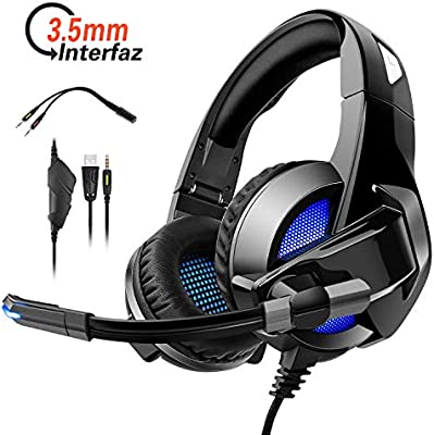Auriculares Cascos Led Ajustable para PS4 / PC / Xbox One / Xbox ...