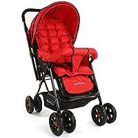 Luvlap Blossom Baby Stroller (Red)
