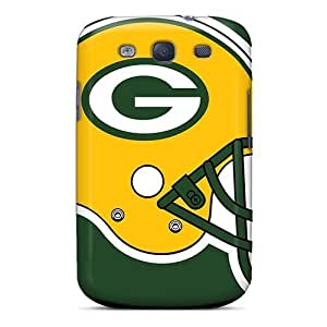 Hard Plastic Galaxy S3 Cases Back Covers,hot Green Bay Packers Cases At Perfect Customized