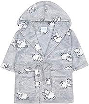 Babytown Baby Boys Soft Teddy Bear Plush Dressing Robe