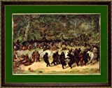 The Bear Dance By William H. Beard Poster Print Framed 15x20 Inches
