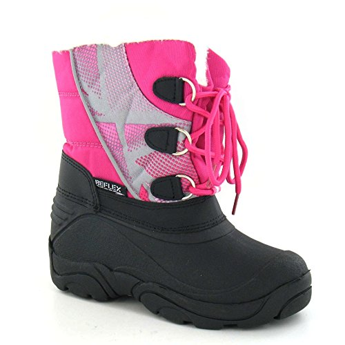 Faux Fuchsia Cutie Girls Snow Boots Fur ZO5zw8