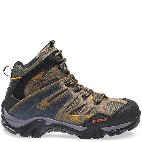 Image of the Wolverine Men's W05745 Wilderness Gunmetal Boot, Grey, 10.5 W US
