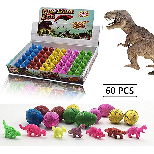 LifBetter Dinosaur Toys, Easter Dinosaur Eggs That Hatch for 3 Year Olds Kids Over, Birthday, Jurassic World Party Supplies