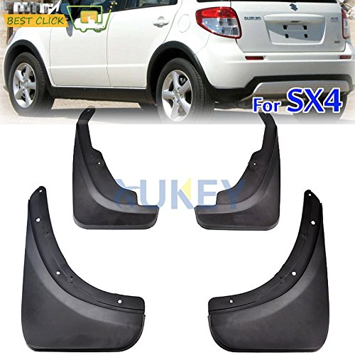 Alician for Suzuki SX4 2007-2013 Car Mud Flaps Car Fenders Set Mudguard