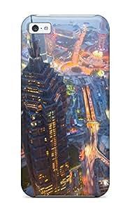 Pretty EmHCaKB6015ikdpe Iphone 5c Case Cover/ Shanghai City Series High Quality Case