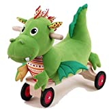 WONDERWORLD Puffy Dragon Ride-on