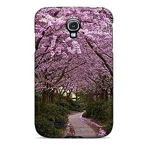 New Spring In Japan Tpu Case Cover, Anti-scratch DaMMeke Phone Case For Galaxy S4