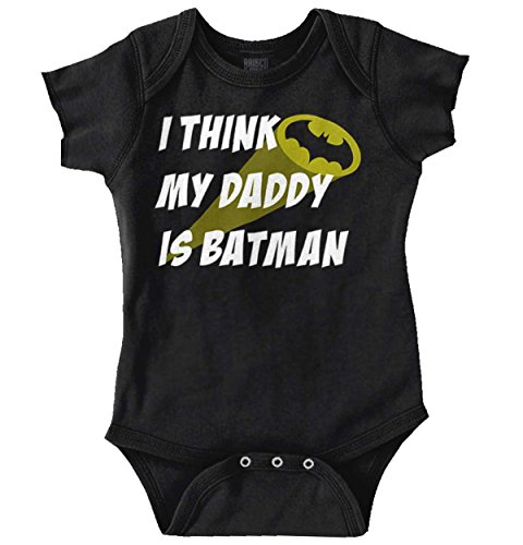 Superhero Mode On Comic Book Nerd Geek Romper Bodysuit Black]()