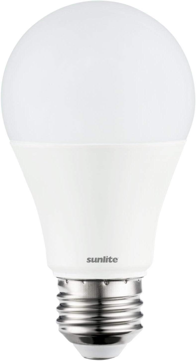 Sunlite 80848-SU LED A19 Super Bright Light Bulb, Non-Dimmable 14 Watt (100W Equivalent), 1500 Lumens, Medium (E26) Base, UL Listed, 1 Pack, 30K - Warm White