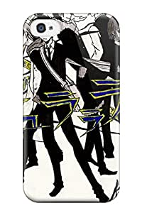 Hot 3244466K28723887 Durarara Characters Fashion Tpu 4/4s Case Cover For Iphone