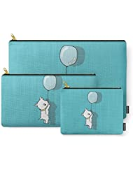 Society6 Hungry Westie Puppy Carry-All Pouch