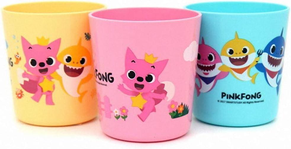 Pinkfong Baby Shark Kids Cups 3pk - 7.4oz