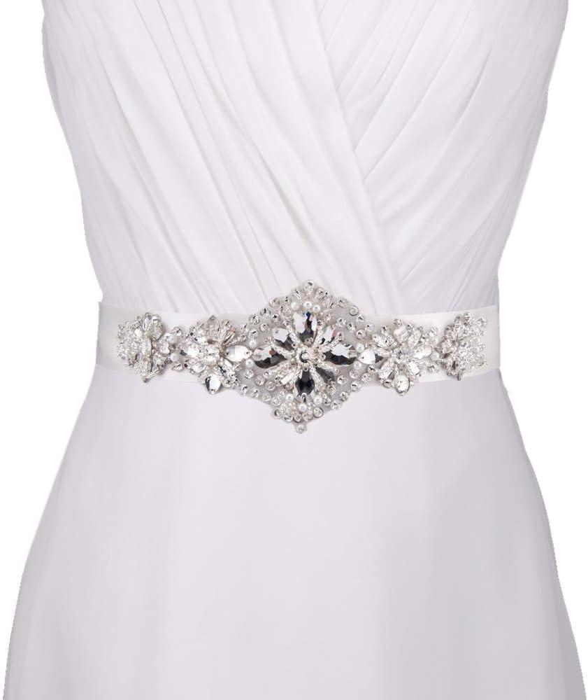 Blue Stones Designer Wedding Belt Crystal Rhinestone Wedding Sashes Bridal Belt Charming Pure Handmade Wedding Accessories