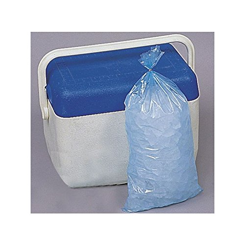 Elkay PlastiCase Plain Ice Bags, 9 x 18, 1.20 mil, 5lb, Case of 1000
