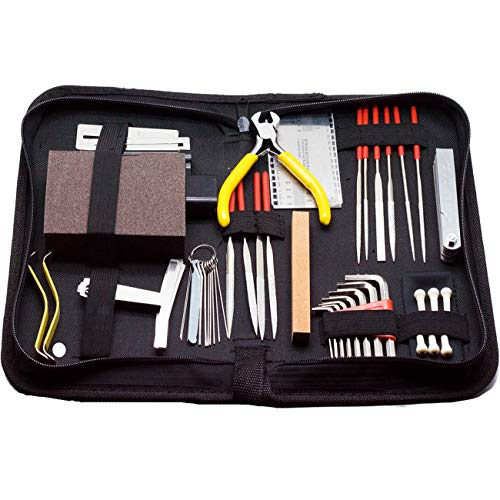 Timiy Guitar Care Tool Kit - Musician Setup Starter Tools Accessories for Acoustic Electric & Bass,guitar gift