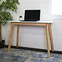 WE Furniture Retro Modern Wood Writing Desk - 42