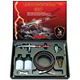 Paasche Airbrush Paasche MIL-Set Double Action Siphon Feed Airbrush