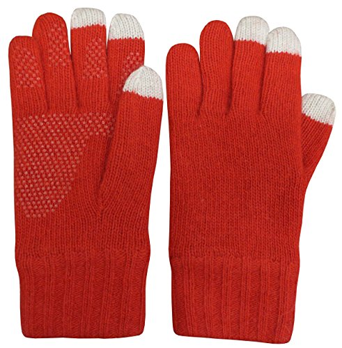 特に恐怖技術N 'iceキャップレディースメリノウールタッチスクリーン手袋