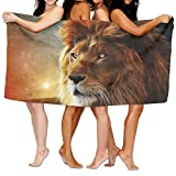 Animal Lion Galaxy Unisex Fashion Towel Personalized Print Beach Towels
