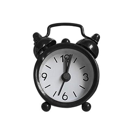 Amazon.com: Sayolala - Reloj despertador electrónico pequeño ...