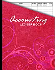 Accounting Ledger Book: Simple Cash Book For Small Business