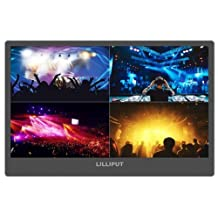 "Lilliput A12 - 12.5"" 4K monitor 3840 x 2160 with HDMI, Displayport and SDI connectivity with V-mount battery plate"