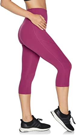 Rockwear Activewear Women's Urban No Mesh 3/4 Tight from Size 4-18 for 3/4 Length Ultra High Bottoms Leggings + Yoga Pants+ Yoga Tights