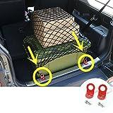 Metal Car Rear Trunk Luggage Net Lock Hooks 2pcs For Suzuki Jimny 2007-2015