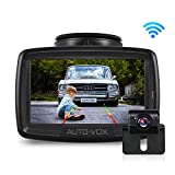 AUTO-VOX W2 Wireless Digital Backup Camera Kit, -20-65℃ Resistant IP68 Waterproof Wireless Rear