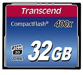 Transcend 32GB CompactFlash Memory Card 400x (TS32GCF400) (B002WE4H8I) | Amazon price tracker / tracking, Amazon price history charts, Amazon price watches, Amazon price drop alerts