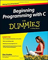 Beginning Programming with C For Dummies Front Cover