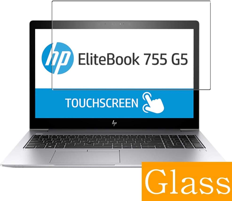 """Synvy Tempered Glass Screen Protector for HP EliteBook 755 G5 15.6"""" Visible Area Protective Screen Film Protectors 9H Anti-Scratch Bubble Free"""