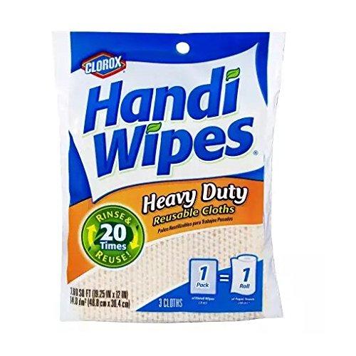 Handi Tub (Handi Wipes 78439 Heavy Duty Reusable Wipe (3 Count))