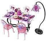 Barbie Glam Dining Set - Pink