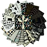 Art Gallery Fabrics Exclusive Bundle 20 Fat Quarters Black & White Black/White