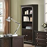 Coaster Home Furnishings Garson Bookcase with Storage Cabinet Base Cappuccino Review