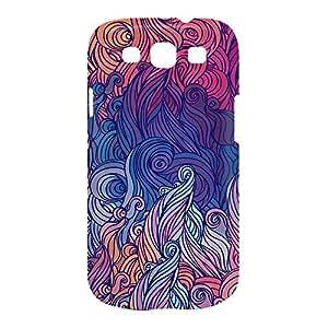 Hairs Samsung S3 3D wrap around Case - Design 4