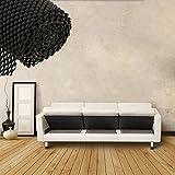 WATTA Under Cushion Non-slip Underlay and Area Rug Pad,Mattress Rug Gripper Fit fof Sofas,Couches,Outdoor Furniture,Carpet,Mattress, Set of 3-24''x 24'' - Black