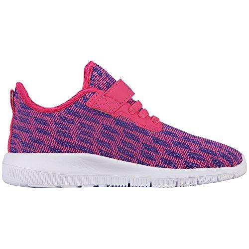 Kappa Gizeh Kids, Zapatillas Para Niñas Pink (2260 Pink/Blue)