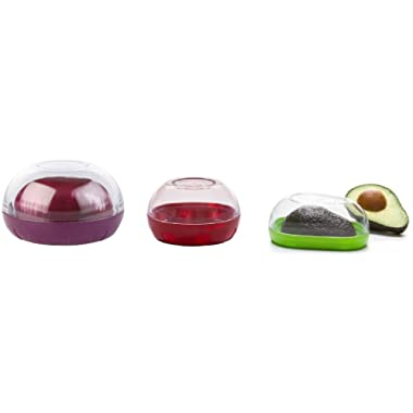 Progressive Internation Onion, Tomato, and Avocado Keepers 3 Piece Set