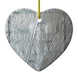 Zazzle Duct Tape Love Ceramic Ornament Heart