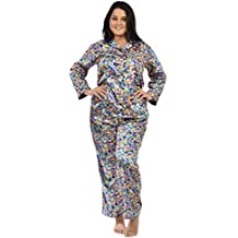 Up2date Fashion Satin Pajama Sets for Women in Variety of Prints